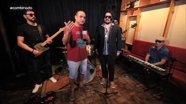 """Banda """"Clube do Rei"""" canta sucessos do cantor Roberto Carlos - Grupo tem repertório inspirado nas canções do """"Rei"""""""