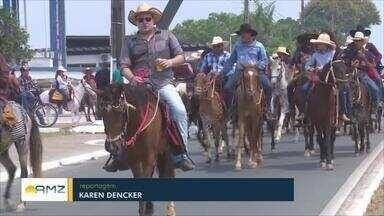 PM divulga dados dos trabalhos realizados durante a Cavalgada em Ji-Paraná - Evento abriu a Expojipa