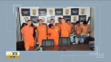 Polícia prende grupo criminoso que agia sob ordens de dentro de presídio no Maranhão - Ao todo, 12 pessoas foram presas apontadas como responsáveis tráficos de drogas e, pelo menos, seis homicídios.