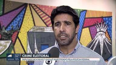 Distrital Roosevelt Vilela é investigado pela PF por crime eleitoral - Deputado do PSB é acusado de usar máquina pública para campanha. Ele nega acusações.