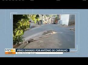 VC no MG: Morador do Bairro Bethânia reclama de mudança no trânsito em Ipatinga - Segundo o morador, uma obra realizada pela prefeitura entre as ruas Sevilha e Salamanca, tem provocado muitos acidentes no local.