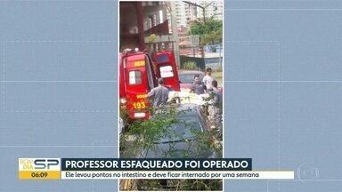 Polícia investiga ataque a professor no CEU Aricanduva, na Zona Leste de São Paulo - Adolescente golpeou o professor e depois tentou se matar nesta quinta-feira (19).