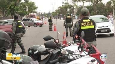 Imprudência é principal causa de acidente de trânsito, diz Secretaria de Saúde - Levantamento foi feito nas emergências de Pernambuco.