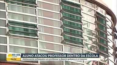 Bom Dia SP - Edição de sexta-feira, 20/09/2019 - Polícia investiga ataque a professor no CEU Aricanduva, na Zona Leste de São Paulo. Polícia prende quadrilha suspeita de roubo de cargas. Moradores da Vila Carmosina, na Zona Leste de São Paulo, reclamam de falta de segurança.