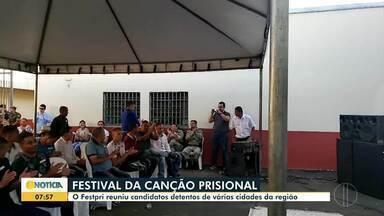 Detentos participam de Festival da Canção Prisional - Detentos de Montes Claros, Pirapora, Bocaiuva, Januária e Curvelo participam.