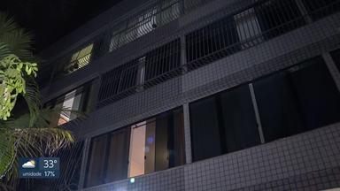 Homem escala prédio para roubar celular; moradora estava no apartamento - Caso ocorreu na Asa Norte.