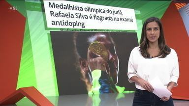 Rafaela Silva é flagrada no exame antidoping - Rafaela Silva é flagrada no exame antidoping