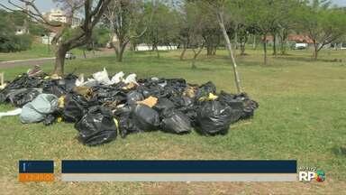 O sábado foi de faxina em alguns pontos de Cascavel - As ações de limpeza foi para comemorar o mundial da limpeza e o dia da árvore.