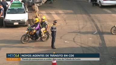 Cidade Leste tem novos agentes para cuidar do trânsito da cidade - Os antigos agentes atrasavam filas de propósito para cobrar propina.