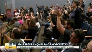 Audiência pública discute mais segurança para motoristas de aplicativo - Em Itapetininga, a Polícia prendeu uma quadrilha acusada de assaltar os motoristas.