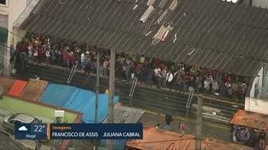 Tiroteio no Chapadão deixa trens fora de circulação - Ramal de Belford Roxo ficou 4 horas sem operar.