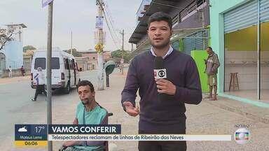 Telespectadores sofrem em linhas de Ribeirão das Neves - Bom Dia Minas confere as condições dos ônibus de duas linhas da cidade
