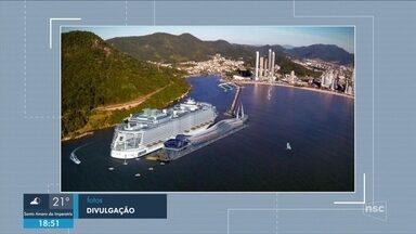 Governo autoriza instalação de porto de transatlânticos em Balneário Camboriú - Governo concede autorização para instalação de porto de transatlânticos em Balneário Camboriú