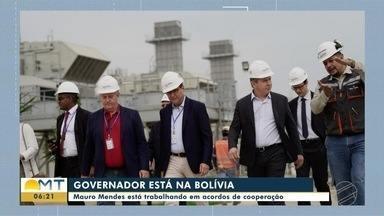 Depois de Nova York, governador Mauro Mendes cumpre agenda de compromissos na Bolívia - undefined