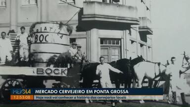 Boa noite Paraná vai te contar a história das antigas cervejarias de Ponta Grossa - Série de reportagens traz informações sobre o mercado cervejeiro na cidade.