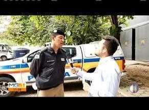 Polícia Militar realiza operação em Teófilo Otoni - Ao vivo, policial fala sobre a operação realizada para combater o tráfico de drogas na região.