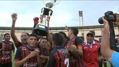 Moto Club vence o Santa Luzia pelo Campeonato Estadual Sub-19 - Com o título, time vai para a Copa São Paulo, Copa do Nordeste e Copa do Brasil da categoria.