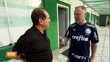Veja como foi a visita de Muricy Ramalho ao técnico Mano Menezes - Veja como foi a visita de Muricy Ramalho ao técnico Mano Menezes