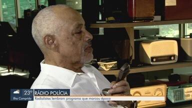 """Em homenagem ao Dia do Rádio, radialistas relembram programa que marcou época - Jornal da Tribuna apresenta a terceira reportagem da série """"Paixão pelo rádio""""."""