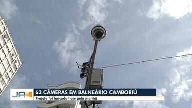 Balneário Camboriú lança oficialmente um projeto de monitoramento com 63 câmeras - Balneário Camboriú lança oficialmente um projeto de monitoramento com 63 câmeras