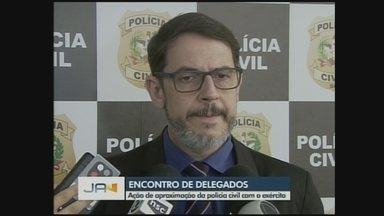 Polícia Civil promove encontro de delegados da região - Polícia Civil promove encontro de delegados da região