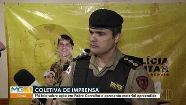 Seis homens morrem em confronto com a Polícia Militar, no Norte de Minas - Confronto com a Polícia Militar aconteceu entre Padre Carvalho e Salinas, no Norte de Minas. De acordo com as informações da PM, o grupo é suspeito de envolvimento a crimes de explosão a caixas eletrônicos.