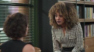 Gisele aproveita e incentiva Nana a se separar de Diogo - Nana diz que não pode desperdiçar anos de casamento com Diogo