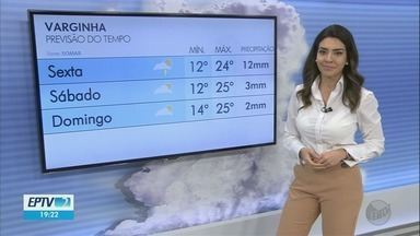 Confira a previsão do tempo para esta sexta-feira (27) no Sul de Minas - Confira a previsão do tempo para esta sexta-feira (27) no Sul de Minas