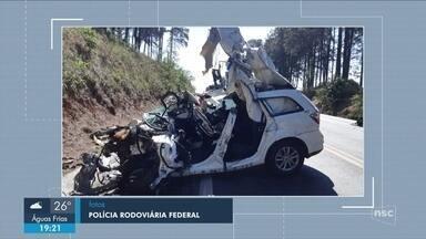 Giro de notícias: homem morre em acidente na BR-282 em Xanxerê - Giro de notícias: homem morre em acidente na BR-282 em Xanxerê