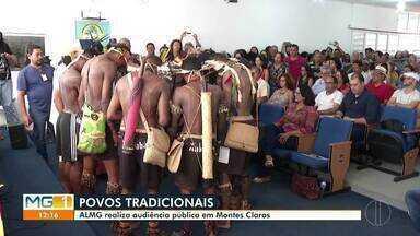 Assembleia realiza audiência pública em Montes Claros - Direitos dos povos tradicionais é um dos temas.