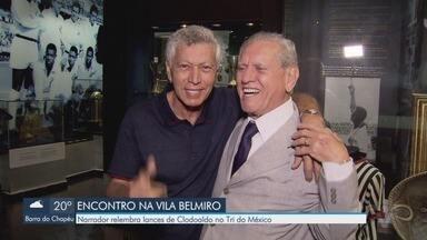 Em homenagem ao Dia do Rádio, narrador relembra lances de Clodoaldo no Tri do México - Reportagem especial é produzida também em homenagem ao aniversário do Clodoaldo Tavares Santana.