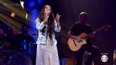 """Pollyana Caires canta """"Corcovado"""" - Técnicos analisam as apresentações do time Lulu"""