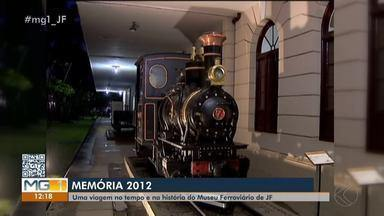 Memória MG: conheça as curiosidades do Museu Ferroviário em Juiz de Fora - Localizado na Avenida Brasil, o local fica aberto para visitação de segunda a sexta-feira, das 9h às 17h.