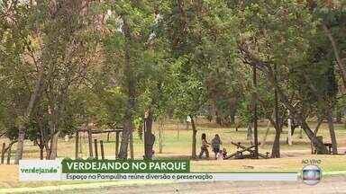 Parque na Pampulha reúne diversão e preservação - O Parque Ecológico da Pampulha oferece opções de lazer pro fim de semana.