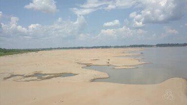 Estiagem afeta viagens de barco no sul do Amazonas - Viagens que levavam 16h Agora chegam a durar 24h.