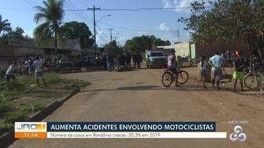 Acidentes com motociclistas aumentam 20,3% em Rondônia - Dados foram divulgados pela PRF.