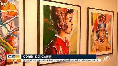 Artista cria exposição inspirada nas manifestações culturais do Cariri - Saiba mais em g1.com.br/ce