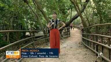 Confira os destaques da agenda cultural - Saiba mais em g1.com.br/ce