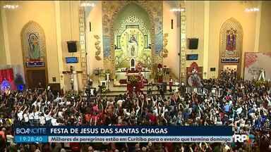 Milhares de peregrinos estão em Curitiba para a Festa de Jesus das Santas Chagas - A capital vai receber mais de 70 caravanas durante todo o evento