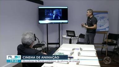 Moradores de Paraty participam de oficinas de cinema - Na programação, oficina de roteiro e projetos de animação.