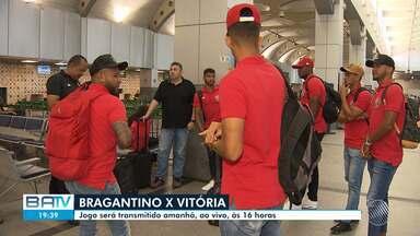 Série B: Vitória desembarca em São Paulo para enfrentar o líder Bragantino no domingo - O time paulista tem a melhor defesa e o melhor ataque do campeonato. Jogo acontece no domingo (29), às 16h, e tem transmissão da Rede Bahia.
