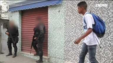 Crianças que vivem em áreas de risco falam sobre a violência no Rio