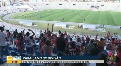 Assista aos gols dos jogos de ida das semifinais da 2ª divisão do Paraibano - São Paulo Crystal bateu a Queimadense por 3 a 0 no Amigão, enquanto que o Confiança-PB derrotou o Sport-PB por 1 a 0 no Tadeuzão