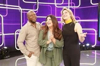 'Se Joga': veja como foram os bastidores da estreia do programa - Assista ao vídeo!