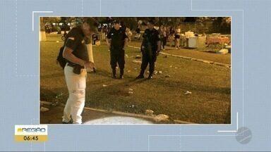 Rapaz é morto durante festa de música eletrônica em Pedro Juan Caballero - Outras pessoas ficaram feridas.