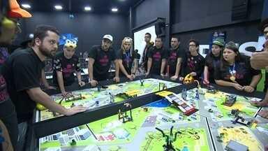 Mais de 800 estudantes participam de Feira de Robótica em Sorocaba - Mais de 800 estudantes participaram do 5º Festival de Robótica em Sorocaba (SP). O evento teve o apoio da TV TEM.