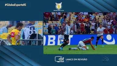Márcio Chagas analisa polêmicas da arbitragem no jogo do Grêmio - Assista ao vídeo.