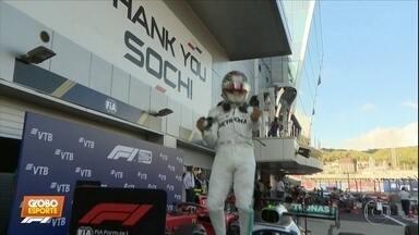 Lewis Hamilton volta a vencer no GP da Rússia de Fórmula 1 - Lewis Hamilton volta a vencer no GP da Rússia de Fórmula 1