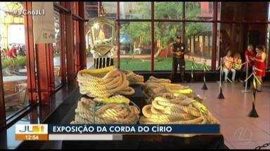 Corda do Círio está em exposição na Estação das Docas, em Belém - Corda do Círio está em exposição na Estação das Docas, em Belém