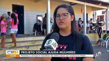 Projeto social ajuda mulheres do bairro João Cabral em Juazeiro do Norte - Saiba mais no g1.com.br/ce